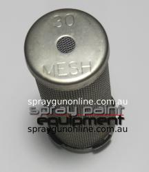 Graco 167052 30 Mesh Short Filter Strainer End Cap