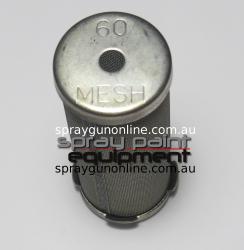 Graco 167053 60 Mesh Short Filter Strainer End Cap