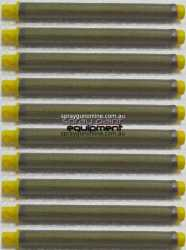 Wagner 0043235K Gun filter YELLOW 10 pack for enamels, undercoats, lacquers, primers 0.14mm